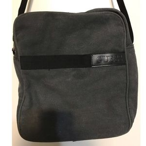 Guess gray and black work/travel/school bag